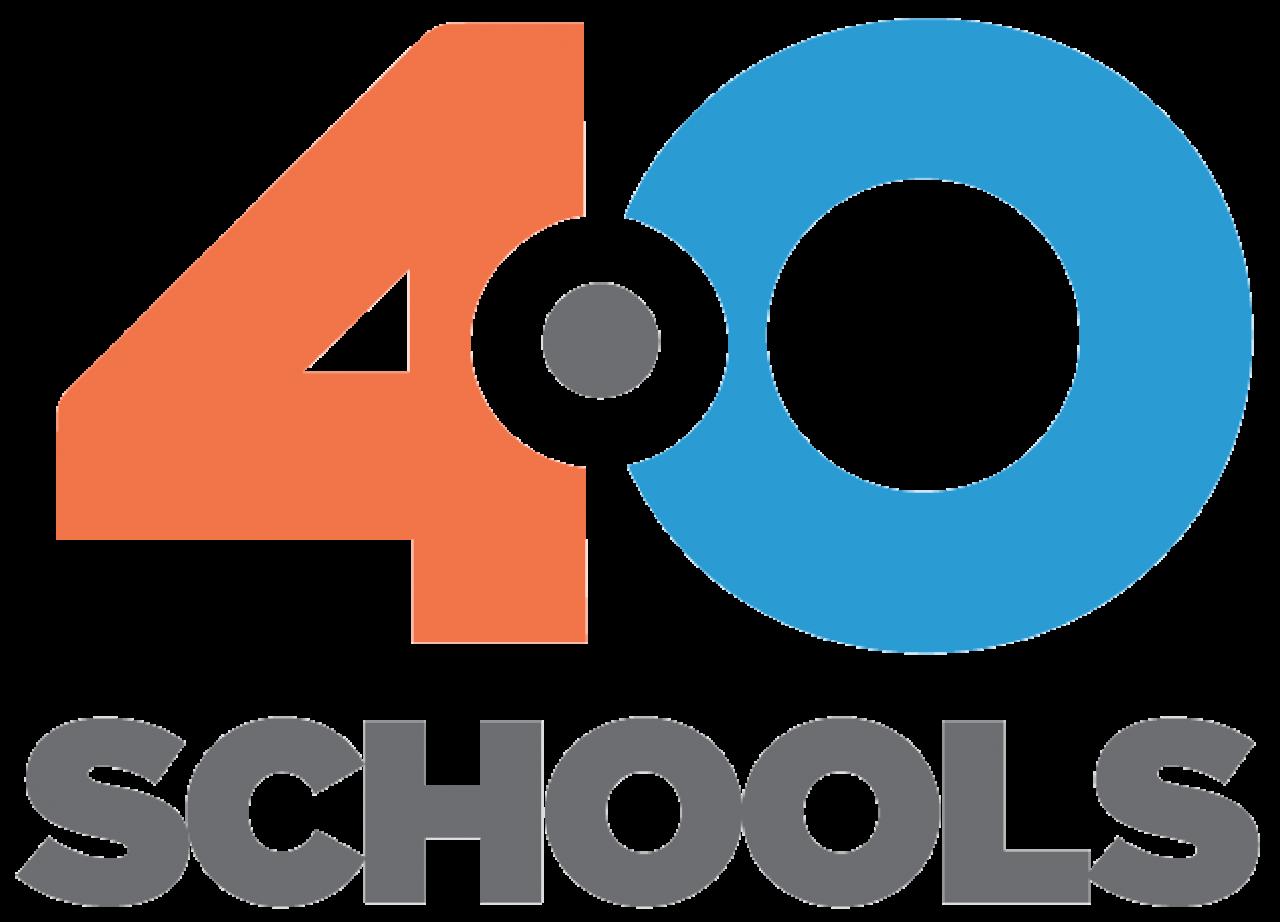 40 Schools logo